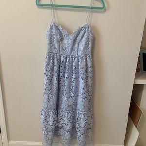 NWT Club Monaco Nanhah Lace Midi Dress